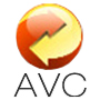 Online video audio document converter logo of avc