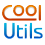 Online video audio document converter logo of coolutils