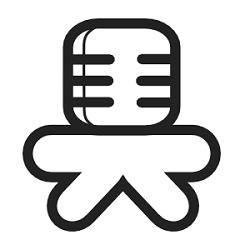 Online video audio converter logo of Mediahuman